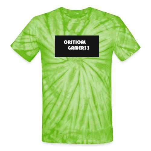 channel merch - Unisex Tie Dye T-Shirt