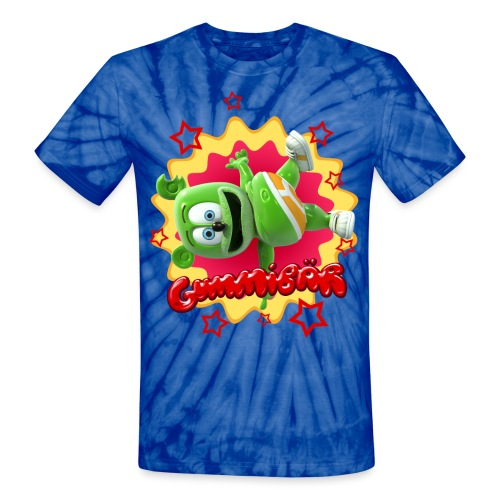 Gummibär Starburst - Unisex Tie Dye T-Shirt