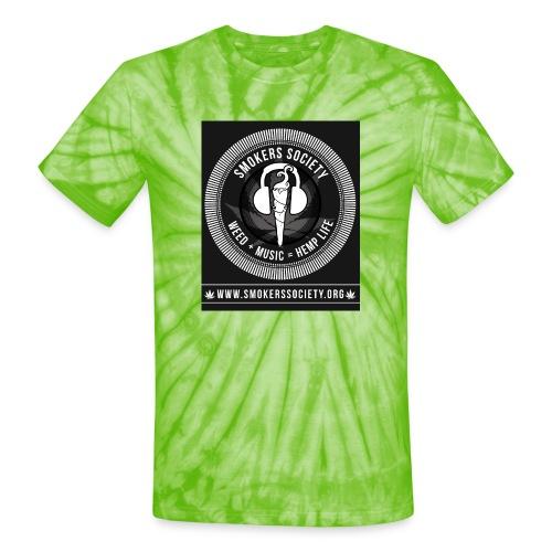 Smokers Society - Unisex Tie Dye T-Shirt