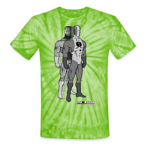 Superhero 9 - Unisex Tie Dye T-Shirt