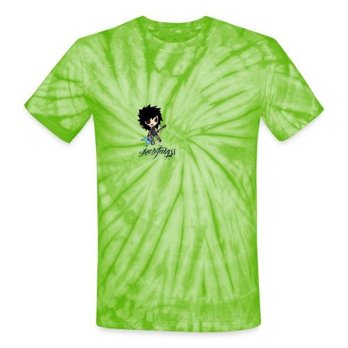 axelofabyss self portrait - Unisex Tie Dye T-Shirt