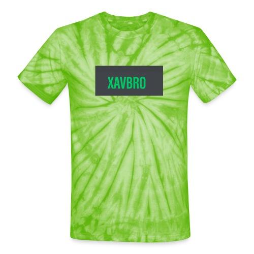 xavbro green logo - Unisex Tie Dye T-Shirt