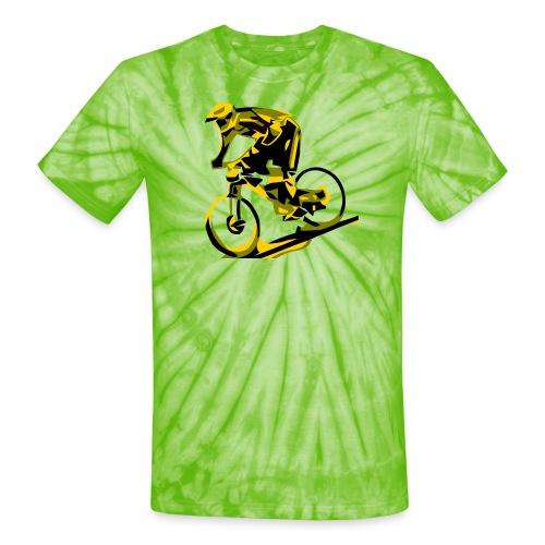 DH Freak - Mountain Bike Hoodie - Unisex Tie Dye T-Shirt