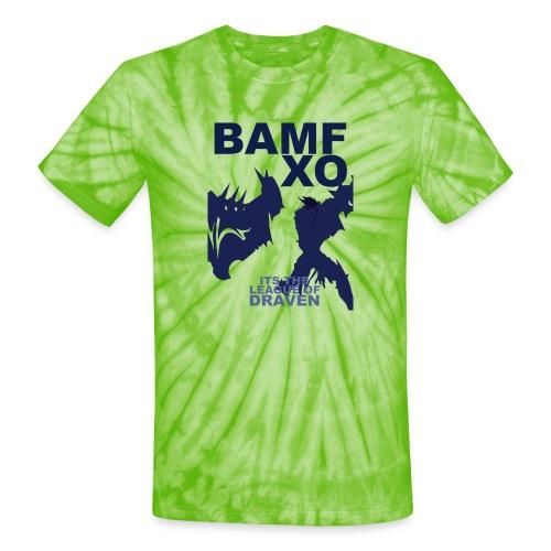 DRAV copy png - Unisex Tie Dye T-Shirt