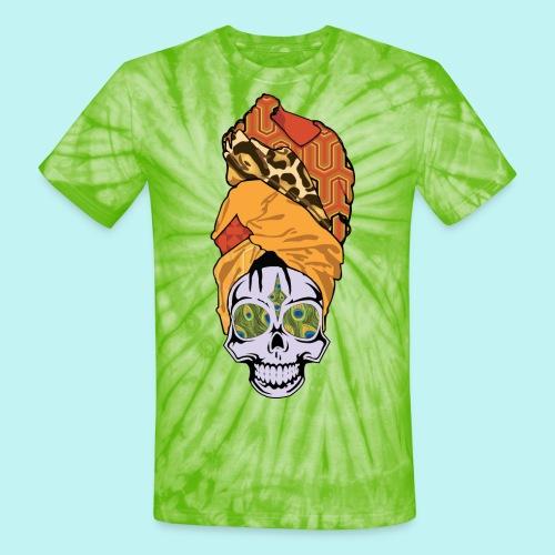 ERYKAH BADU SKULLY - Unisex Tie Dye T-Shirt