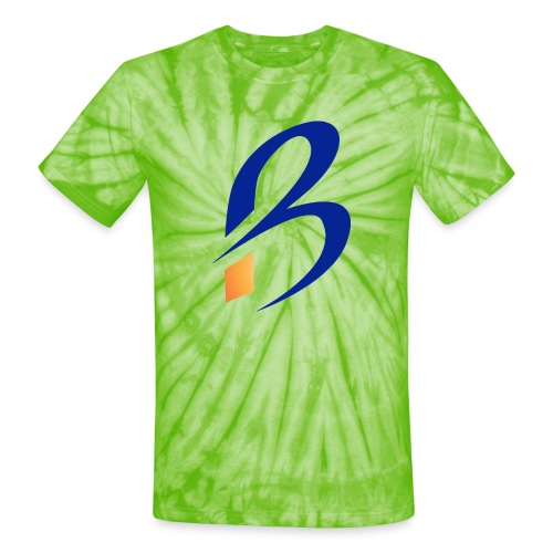 (bradylogo_copy) - Unisex Tie Dye T-Shirt
