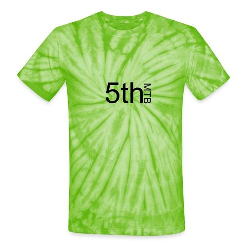 Black original logo - Unisex Tie Dye T-Shirt