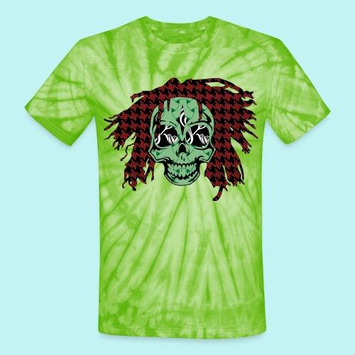 BOB MARLEY SKULLY - Unisex Tie Dye T-Shirt