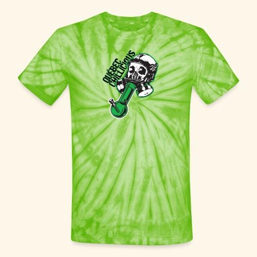 Bong mask Québec Chillicious - Unisex Tie Dye T-Shirt