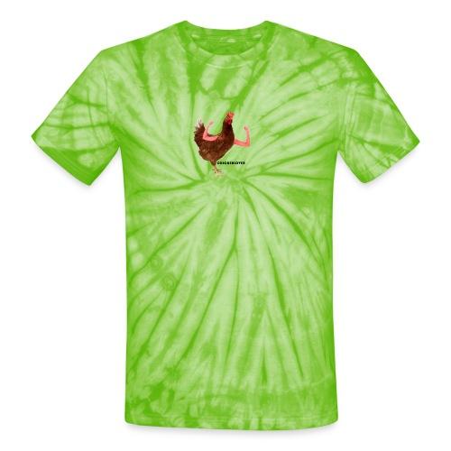ChickenLover Box Logo T-shirt - Unisex Tie Dye T-Shirt