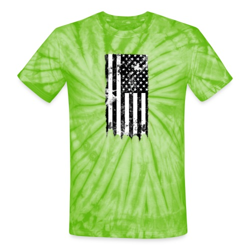 we the people no txt.png - Unisex Tie Dye T-Shirt