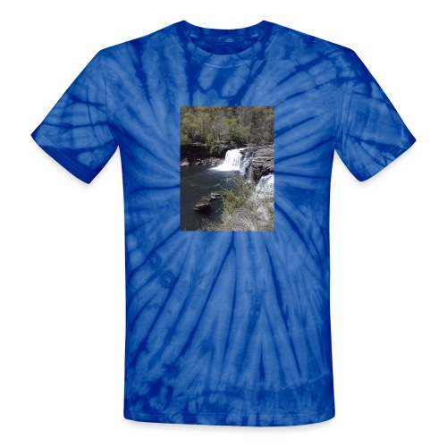 LRC waterfall - Unisex Tie Dye T-Shirt