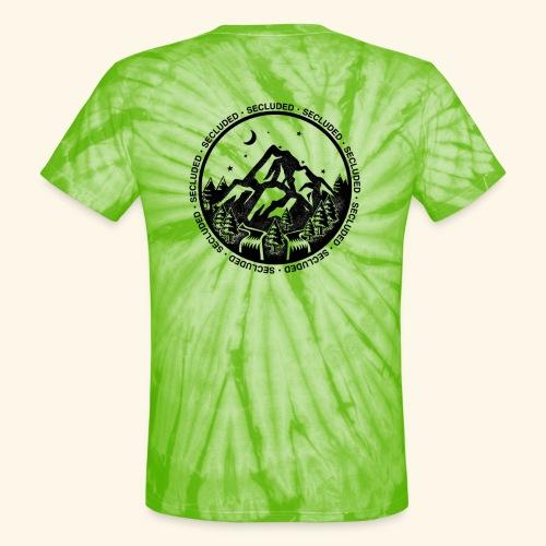 Bellingen Mountain Ranges - Unisex Tie Dye T-Shirt
