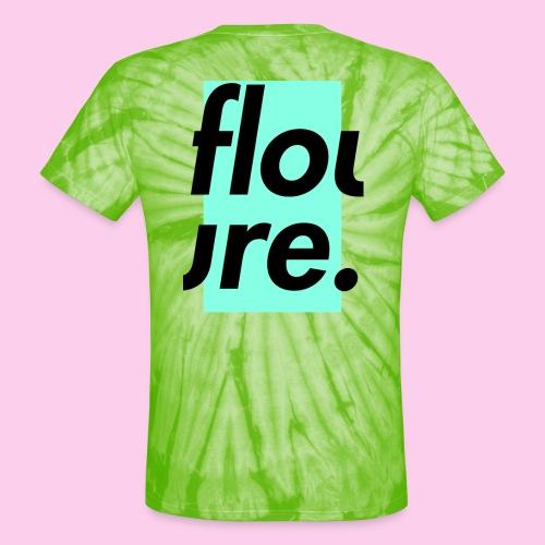 FLOURE CUT 2 PIECES - Unisex Tie Dye T-Shirt