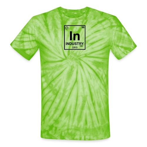 PeriodicLogoScreen - Unisex Tie Dye T-Shirt
