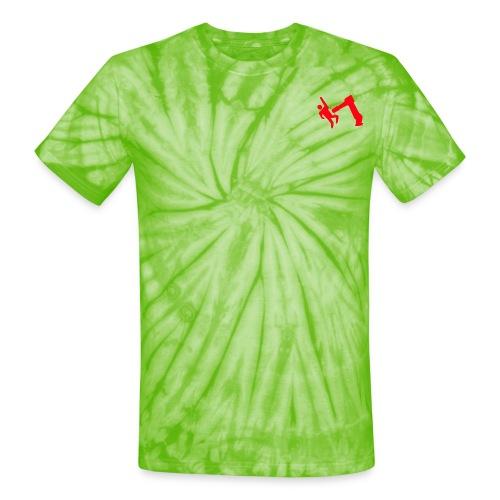 Robot Wins - Unisex Tie Dye T-Shirt