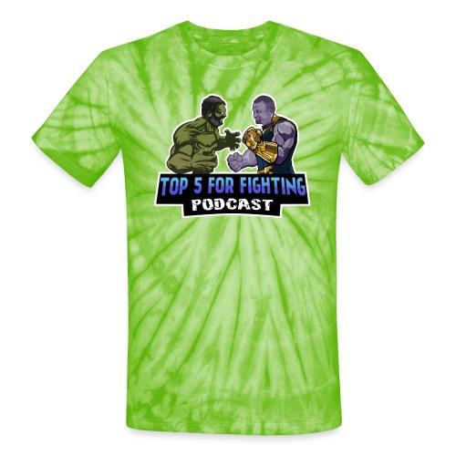 Limited Edition Super Logo - Unisex Tie Dye T-Shirt