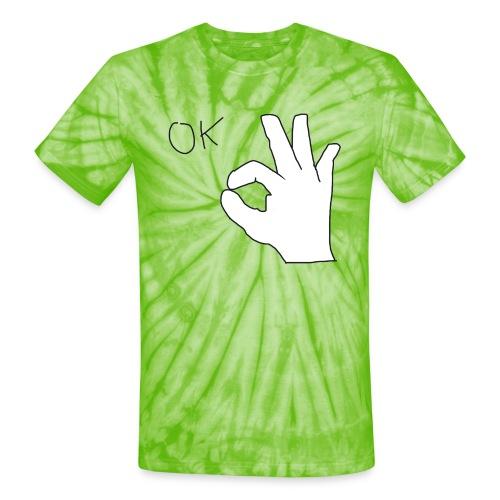Ok - Unisex Tie Dye T-Shirt