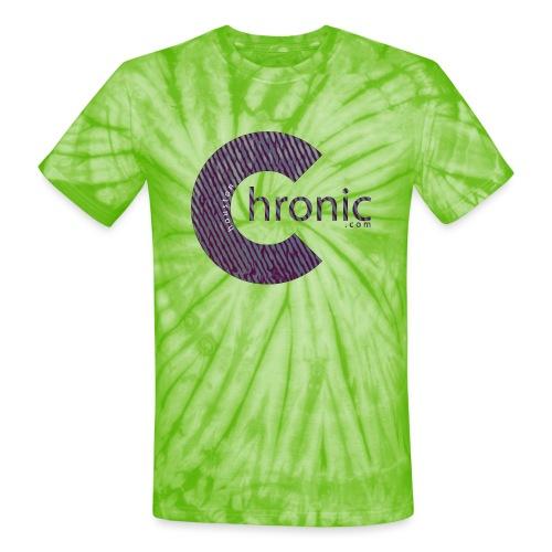Houston Chronic - Classic C - Unisex Tie Dye T-Shirt