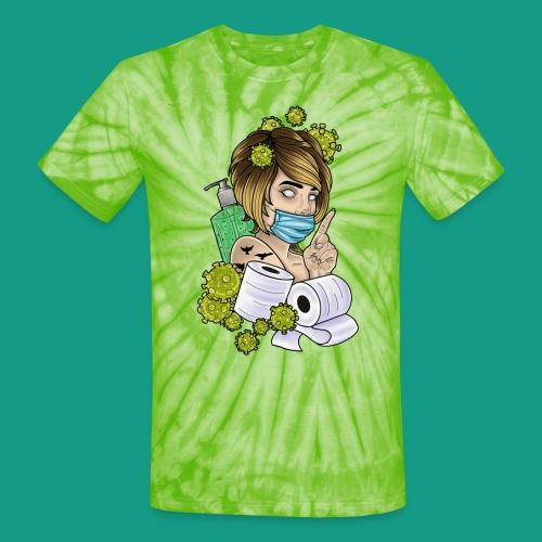 COVID Karen - Unisex Tie Dye T-Shirt
