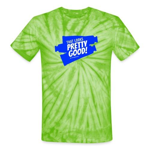 Paint Tubes - Unisex Tie Dye T-Shirt