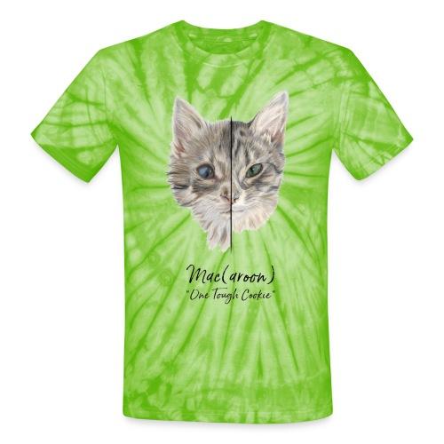 Mac(aroon) One Tough Cookie - Unisex Tie Dye T-Shirt