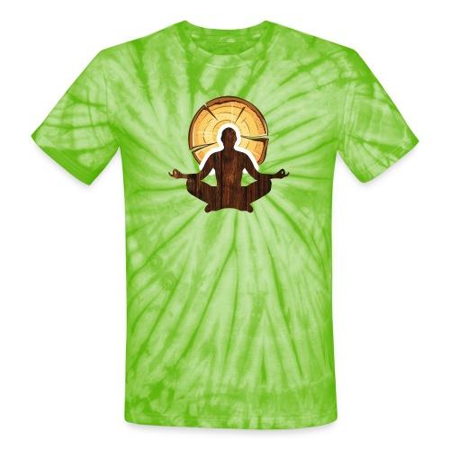 Woodworking is my meditation - Unisex Tie Dye T-Shirt