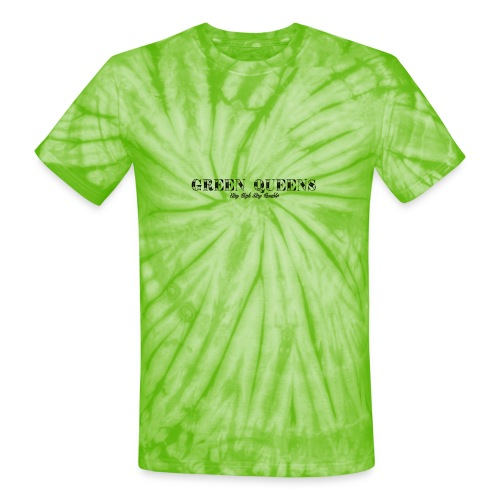 Limited edition - green queens - Unisex Tie Dye T-Shirt