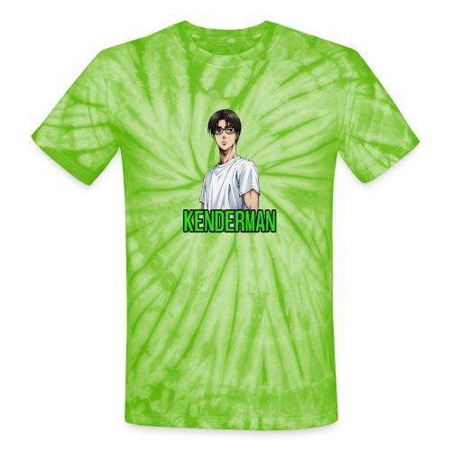 Kenderman manga style merch - Unisex Tie Dye T-Shirt