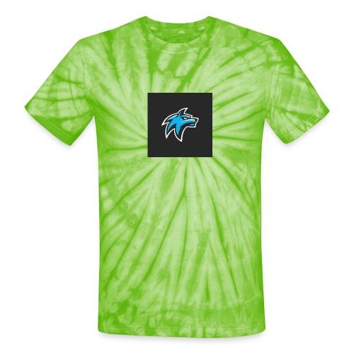 wolf head esport gaming logo vector 44095 55 - Unisex Tie Dye T-Shirt