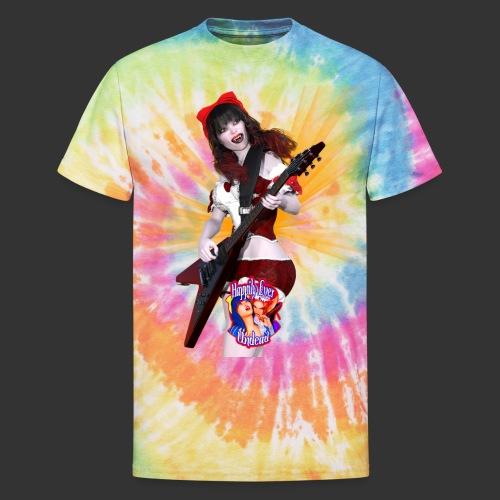Happily Ever Undead: Crimson Snow Guitarist - Unisex Tie Dye T-Shirt