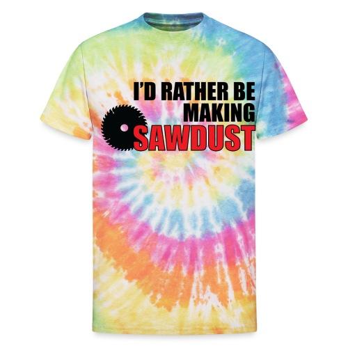 I'd Rather Be - Unisex Tie Dye T-Shirt