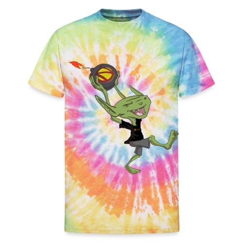 nerdarchistgoblinasset - Unisex Tie Dye T-Shirt