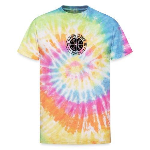 Strong Citizen Logo - Unisex Tie Dye T-Shirt