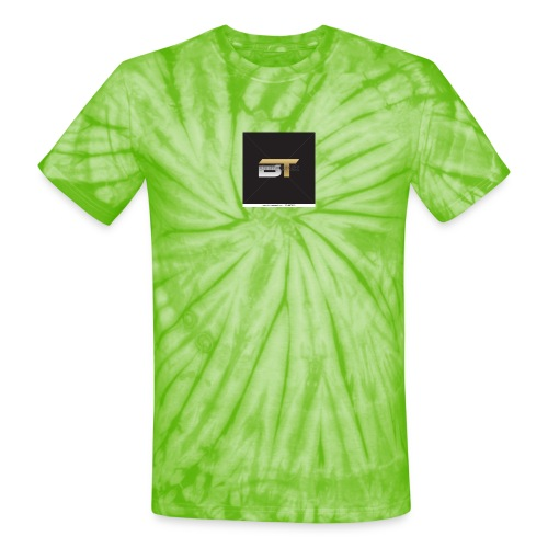 BT logo golden - Unisex Tie Dye T-Shirt