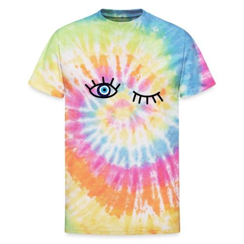 evil eye - Unisex Tie Dye T-Shirt
