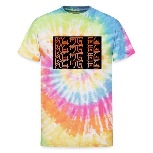 Japan Drop -Kung Fu- - Unisex Tie Dye T-Shirt