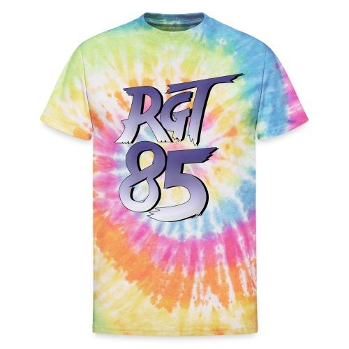 RGT 85 Logo - Unisex Tie Dye T-Shirt