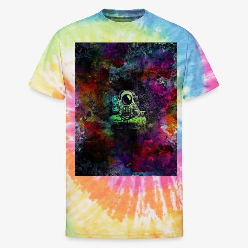 Astronaut - Unisex Tie Dye T-Shirt