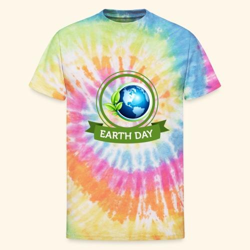 Happy Earth day - 3 - Unisex Tie Dye T-Shirt
