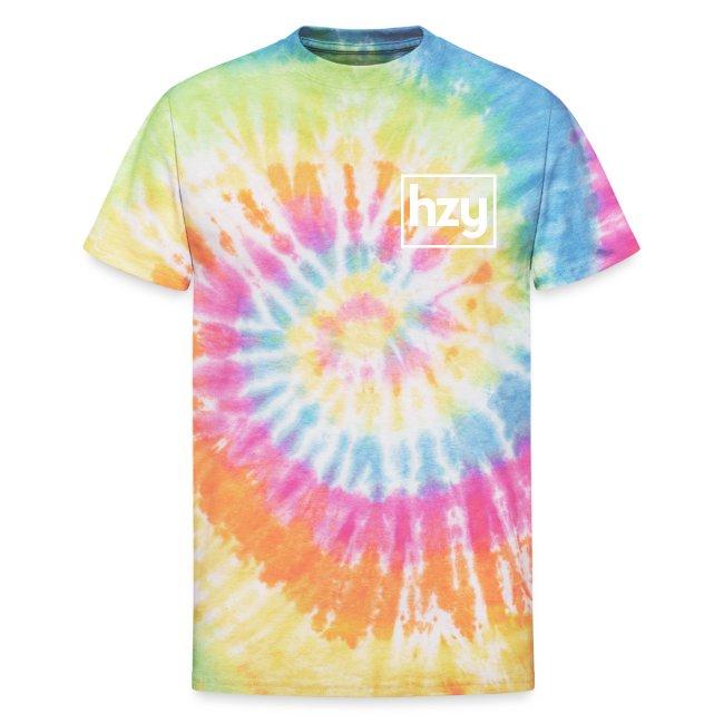 """Hazey """"hzy"""" Logo White"""