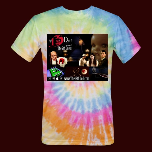The 13th Doll Cast and Puzzles - Unisex Tie Dye T-Shirt