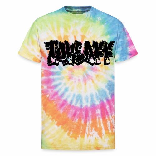 Takeoff Graffiti - Unisex Tie Dye T-Shirt