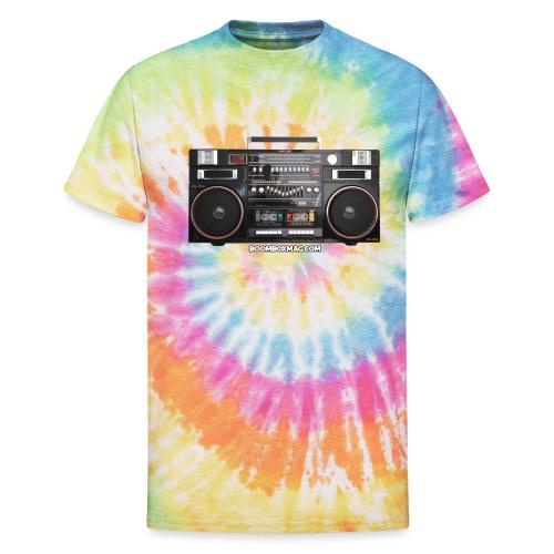 Helix HX 4700 Boombox Magazine T-Shirt - Unisex Tie Dye T-Shirt