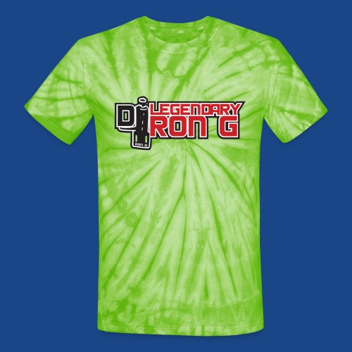 Ron G logo - Unisex Tie Dye T-Shirt