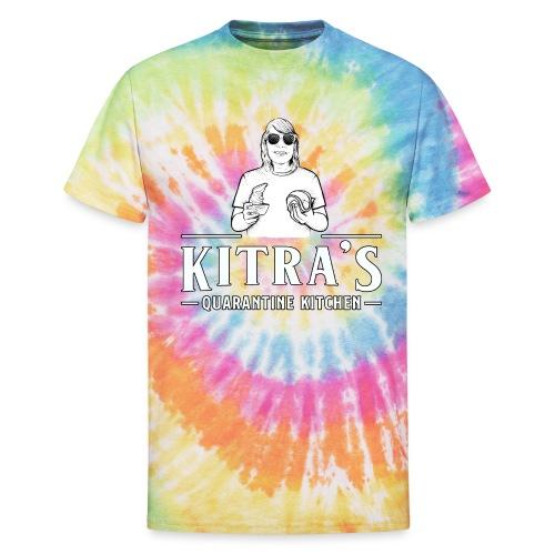 Kitra's Quarantine Kitchen - Unisex Tie Dye T-Shirt