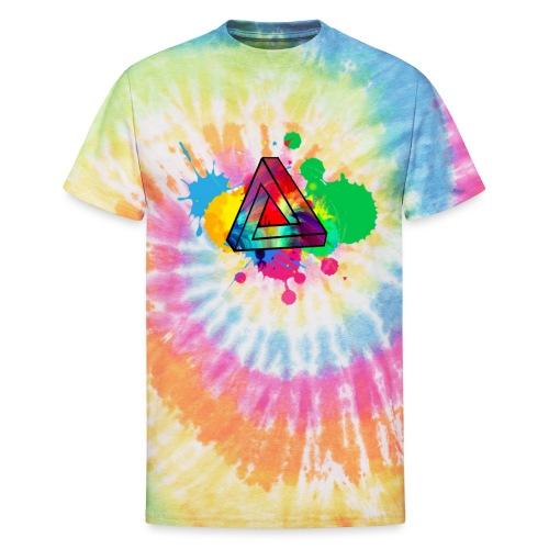 PAINT SPLASH - Unisex Tie Dye T-Shirt