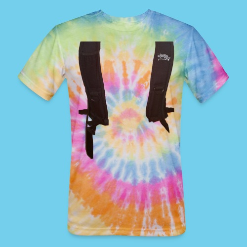 Backpack straps - Unisex Tie Dye T-Shirt