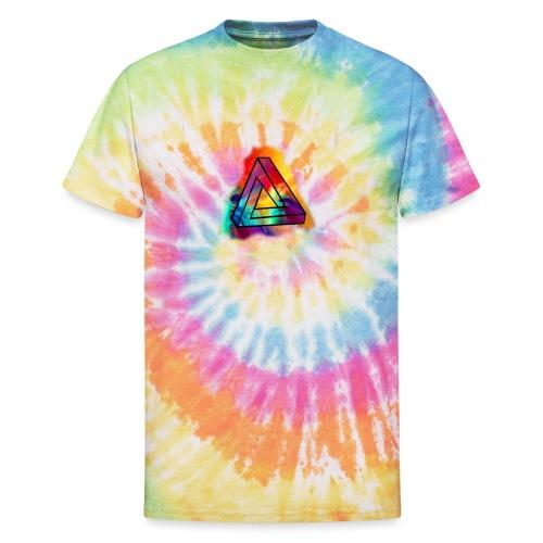PAINT SPLASH LOGO - Unisex Tie Dye T-Shirt