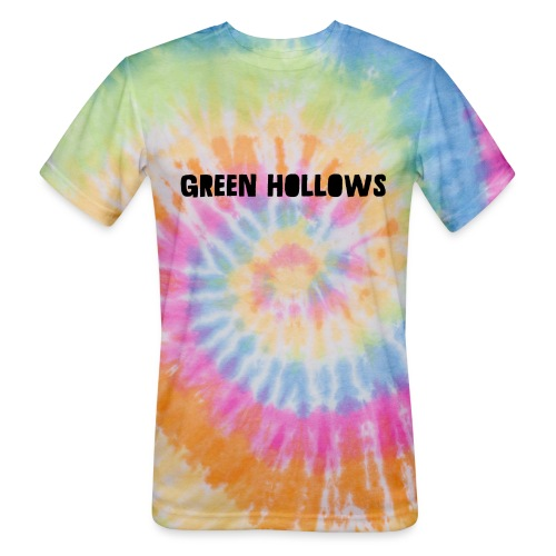 Green Hollows Merch - Unisex Tie Dye T-Shirt